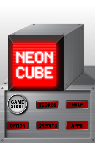 Screenshot NEON CUBE